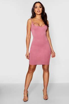 boohoo Strappy Front Bodycon Dress