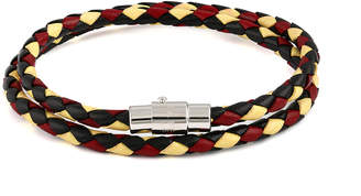 Tateossian Rt By Leather Bracelet