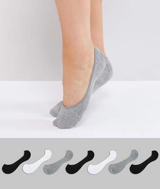 Asos Design DESIGN 7 pack pop socks