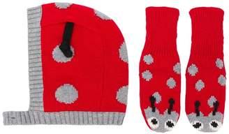 Stella McCartney ladybug hat and gloves