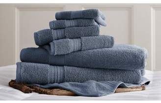 Amrapur Overseas 700 GSM Luxury Spa Collection 6 pc 100% Cotton towel sets Charcoal