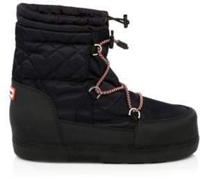 Hunter Short Original Quilt Snow Boots