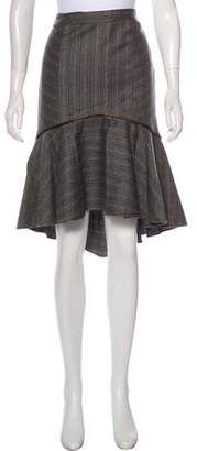 Milly Flared Knee-Length Skirt