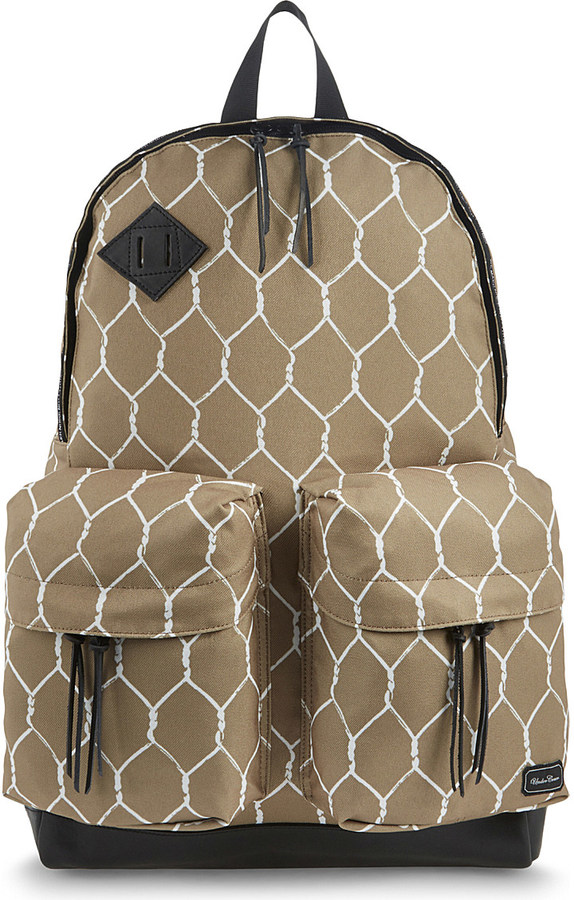 UndercoverUndercover Chain link printed backpack