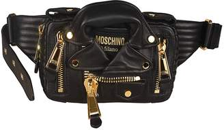 Moschino Biker Jacket Belt Bag