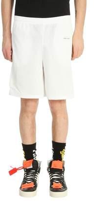 Off-White White Mesh Shorts