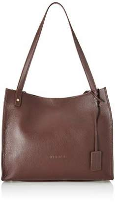 Essere Women's Genuine Leather Tote Handbag with spacious size and magnetic closure -