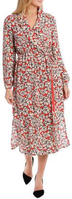 Selected Reba Wrap Dress