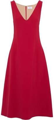J. Mendel J.mendel Metallic Silk-Blend Cloqué Midi Dress
