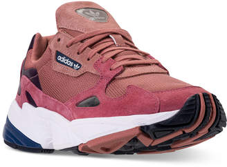 adidas Women Originals Falcon Suede Casual Sneakers from Finish Line