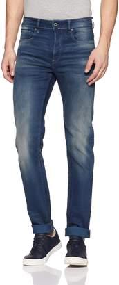 G Star Men's 3301 Slim Fit Jean In Firro Denim