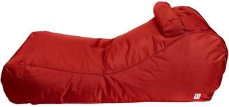 Indo Soul Indosoul Outdoor Bean Bags Canggu Outdoor Sunlounger Cover, Bumbo Red