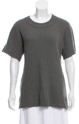 Creatures of Comfort Wool Short Sleeve Sweater