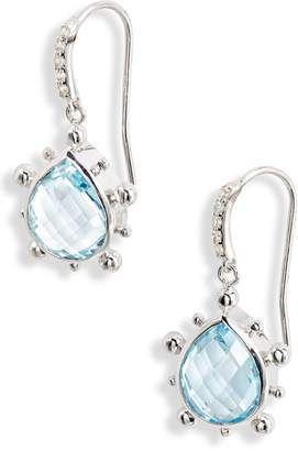 Anzie Dew Drop Semiprecious Stone Earrings