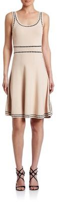 Alice + Olivia Alice + Olivia Heather Scoopneck Dress