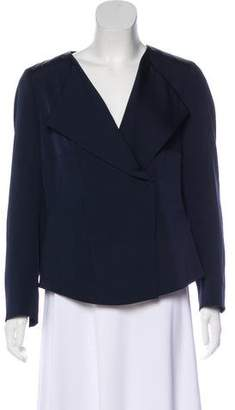 Akris Silk Snap Jacket