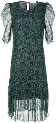 See by Chloe floral midi dress