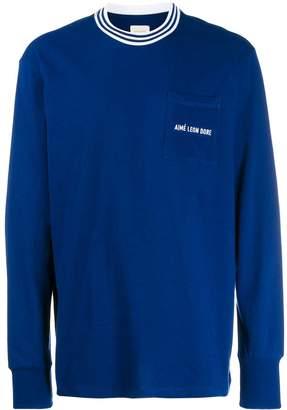 Leon Aimé Dore logo sweatshirt