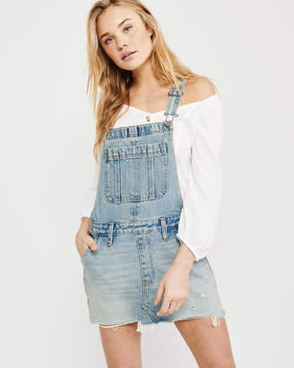 Abercrombie & Fitch Denim Overall Dress