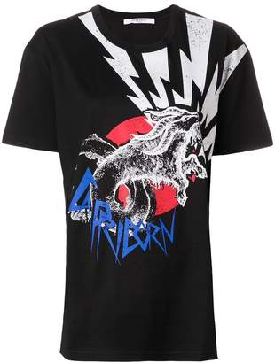 Givenchy capricorn print T-shirt