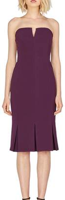 Adelyn Rae Alexis Woven Strapless Dress