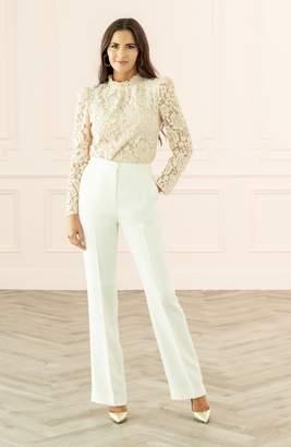 Rachel Parcell Wide Leg Suit Pants