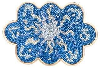 Judith Leiber Crystal-Embellished Minaudière