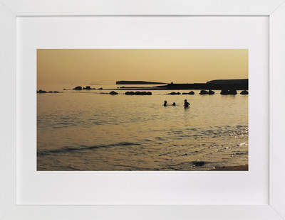 Golden Galway Bay Art Print