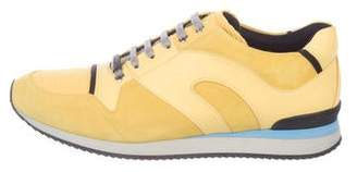 Christian Dior Suede Running Sneakers