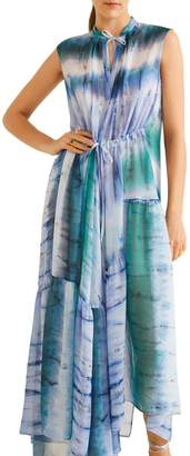 MANGO Tayi Tie Dye Maxi Dress