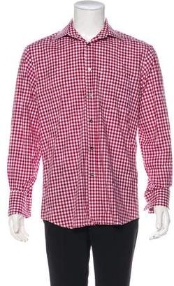 Paul Smith Gingham French Cuff Shirt