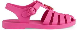 Gucci Children's rubber sandal