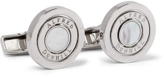 Dunhill (ダンヒル) - Dunhill - Gyro Palladium-Plated Mother-of-Pearl Cufflinks