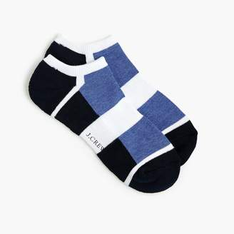 J.Crew Performance athletic colorblock ankle socks