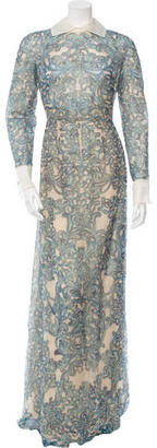 Valentino Embellished Silk Gown w/ Tags $4,320 thestylecure.com