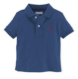 Polo Ralph Lauren Solid Basic Mesh Polo (0-24 Months)