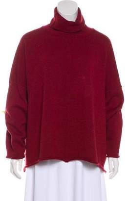 eskandar Oversize Merino Wool Turtleneck Sweater