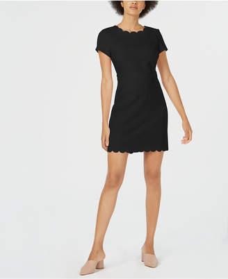 Maison Jules Scalloped Sheath Dress, Created for Macy's