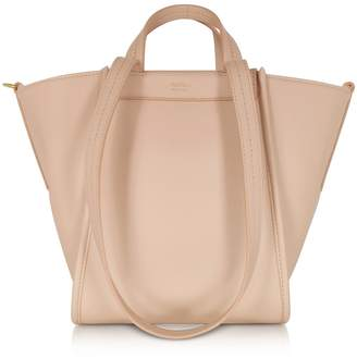 Max Mara Pure Leather And Cashmere Reversible Small Tote