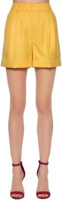 Cool Wool High Waist Shorts