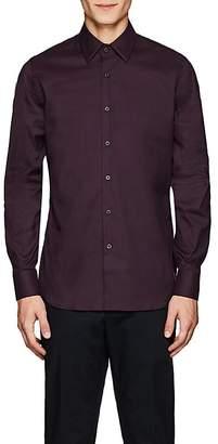 Prada Men's Cotton Poplin Dress Shirt