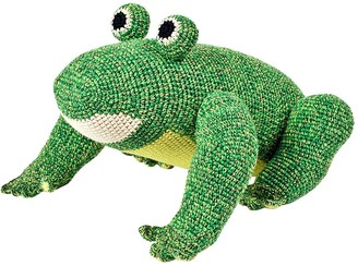 Anne Claire Petit Hand-crocheted Organic Cotton Frog