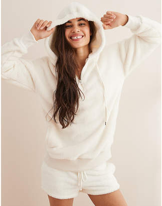 aerie Cozy Quarter Zip Sweatshirt