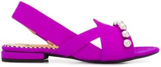 Toga Pulla suede sandals