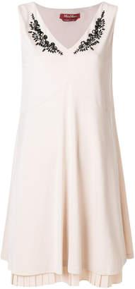 Max Mara beaded layered dress