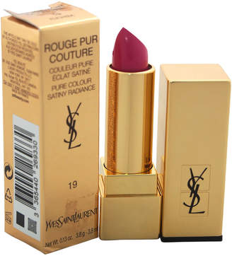 Saint Laurent 0.13Oz # 19 Fuchsia Rouge Pur Couture Pure Colour Satiny Radiance Lipstick