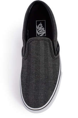 Vans Oversized Herringbone Classic Slip-On Sneaker