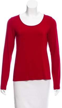 Eileen Fisher Knit Long Sleeve Top