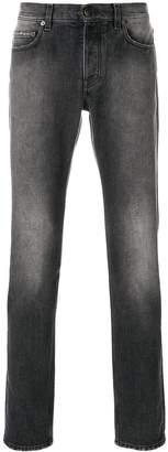 Harmony Paris faded straight-leg jeans