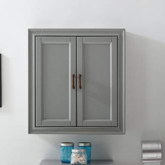 """Gracie Oaks Witton 23.75"""" W x 26"""" H Wall Mounted Cabinet"""